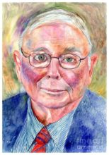 Charlie Munger Painting Suzanns Art